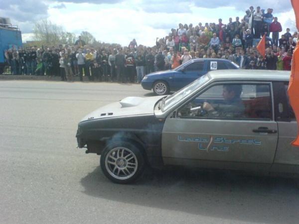 Drag racing.Официальное открытие сезона 2007 в Оренбургеtr